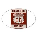 Rancho Cucamonga Route 66 Sticker (Oval 50 pk)