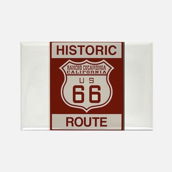 Rancho Cucamonga Route 66 Rectangle Magnet
