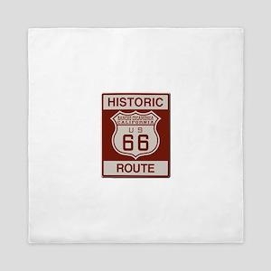 Rancho Cucamonga Route 66 Queen Duvet