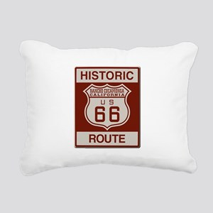 Rancho Cucamonga Route 66 Rectangular Canvas Pillo