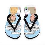 Road to Emmaus Flip Flops