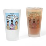 Road to Emmaus Drinking Glass