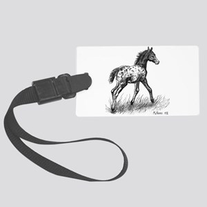 Appaloosa Large Luggage Tag