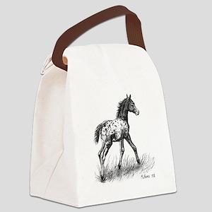 Appaloosa Canvas Lunch Bag