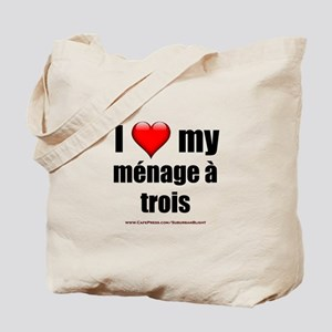 """Love Menage a Trois"" Tote Bag"