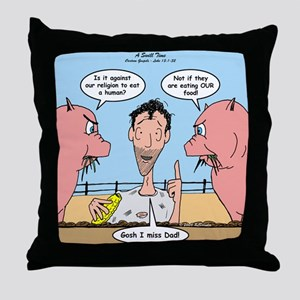 Prodigal Son Throw Pillow