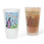 Lost Sheep Drinking Glass