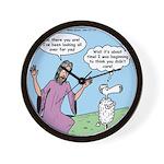 Lost Sheep Wall Clock