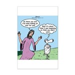Lost Sheep Mini Poster Print