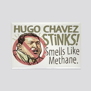 Hugo Chavez Stinks Rectangle Magnet