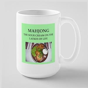 mahjong Large Mug