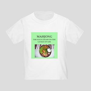 mahjong Toddler T-Shirt