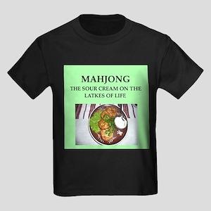 mahjong Kids Dark T-Shirt