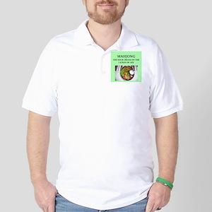 mahjong Golf Shirt