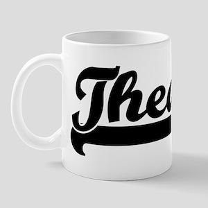 Black jersey: Theda Mug
