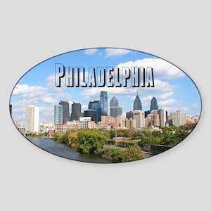 Philadelphia Sticker (Oval)
