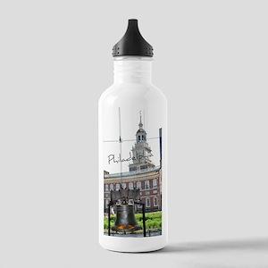 Philadelphia Stainless Water Bottle 1.0L