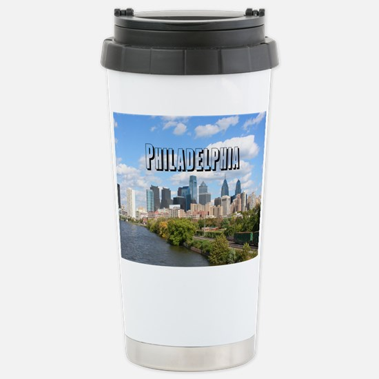 Philadelphia Stainless Steel Travel Mug