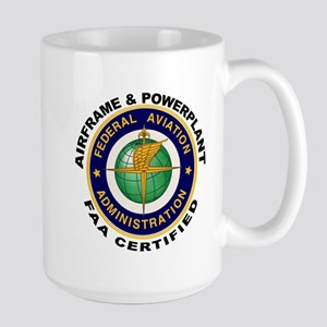 Airframe & Powerplant Large Mug