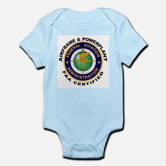 Airframe & Powerplant Infant Bodysuit