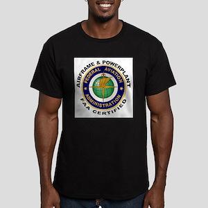 Airframe & Powerplant Men's Fitted T-Shirt (dark)