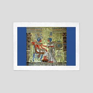 Tutankhamons Throne 5'x7'Area Rug
