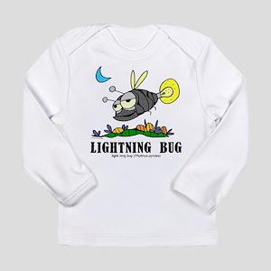 Cartoon Lightning Bug by Lorenzo Long Sleeve T-Shi