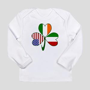 Shamrock of Italy Long Sleeve Infant T-Shirt