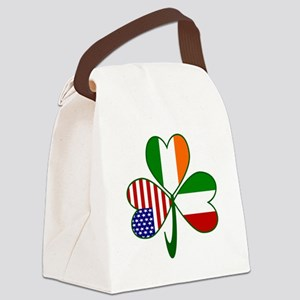 Shamrock of Italy Canvas Lunch Bag