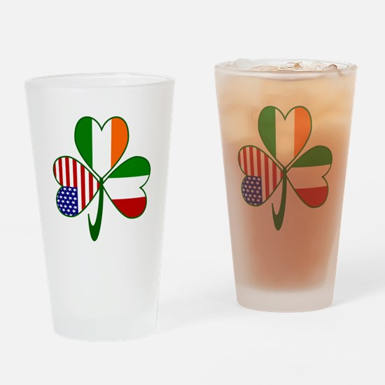 Shamrock of Italy Drinking Glass