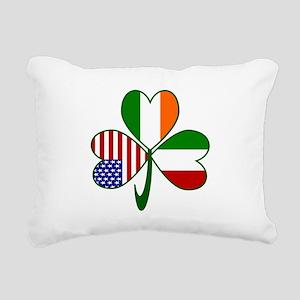 Shamrock of Italy Rectangular Canvas Pillow