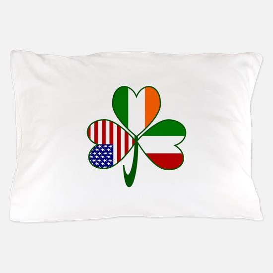 Shamrock of Italy Pillow Case
