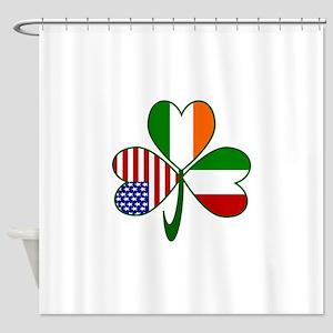 Shamrock of Italy Shower Curtain