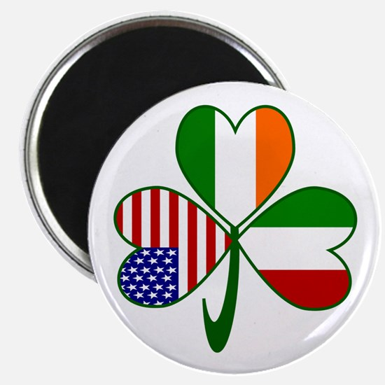 Shamrock of Italy Magnet