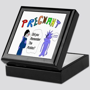 Pregnant Pickles Keepsake Box