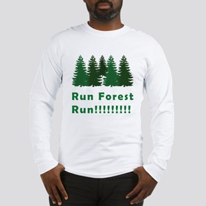 Run Forest Run Long Sleeve T-Shirt