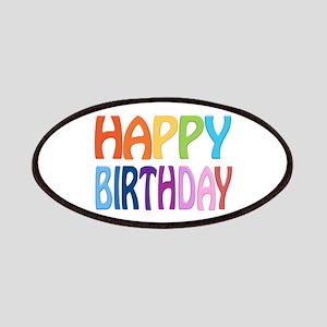 happy birthday - happy Patches