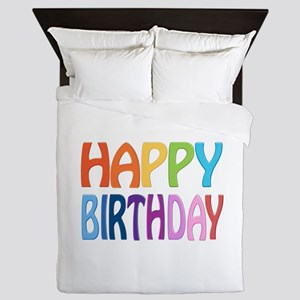 happy birthday - happy Queen Duvet