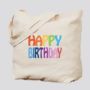 happy birthday - happy Tote Bag