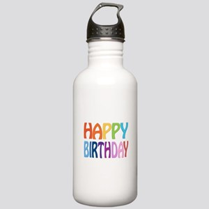 happy birthday - happy Stainless Water Bottle 1.0L