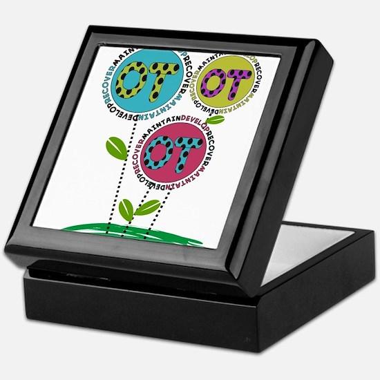 OT FLOWERS FINISHED 1.PNG Keepsake Box