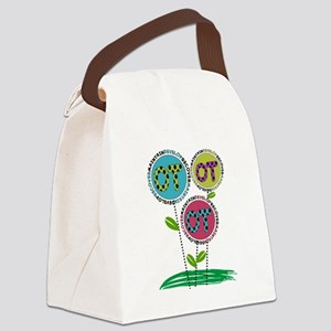 OT FLOWERS FINISHED 1 Canvas Lunch Bag