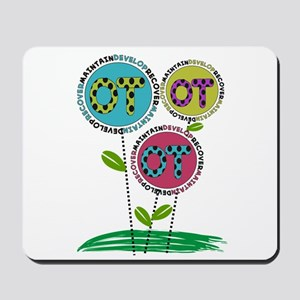 OT FLOWERS FINISHED 1 Mousepad