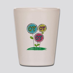 OT FLOWERS FINISHED 1 Shot Glass