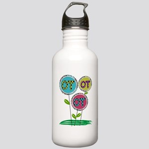 OT FLOWERS FINISHED 1 Stainless Water Bottle 1