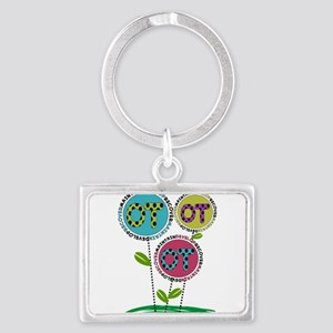 OT FLOWERS FINISHED 1 Landscape Keychain