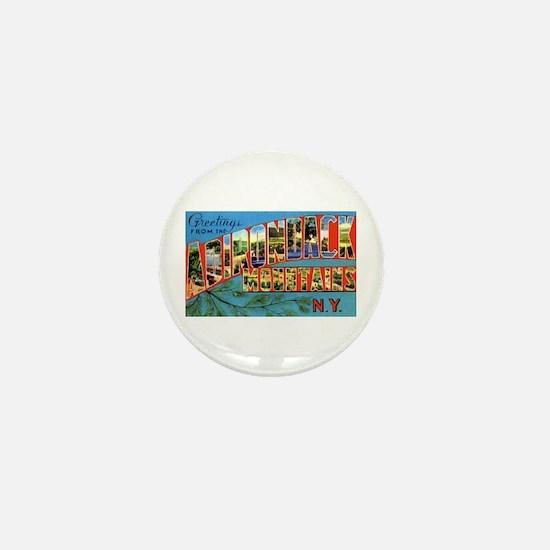Adirondack Mountains New York Mini Button
