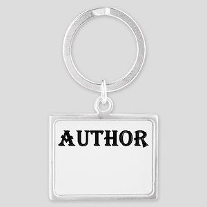 Author Landscape Keychain