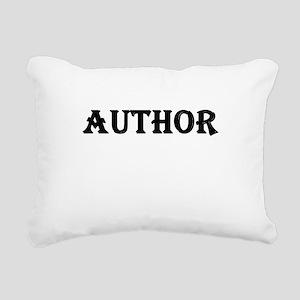 Author Rectangular Canvas Pillow