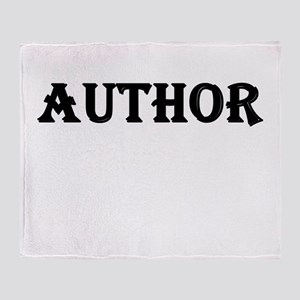 Author Throw Blanket